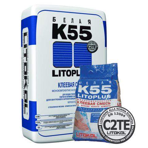Клей на цементной основе LITOPLUS K55