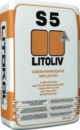 Ровнители для пола и самовыравнивающиеся смеси Смесь самонивелирующаяся LITOLIV S5