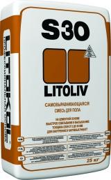 Ровнители для пола и самовыравнивающиеся смеси Смесь самонивелирующаяся LITOLIV S30