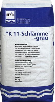 Серый шлам К11
