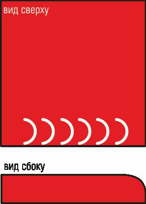 Вальцовка (закругление)края R=5мм